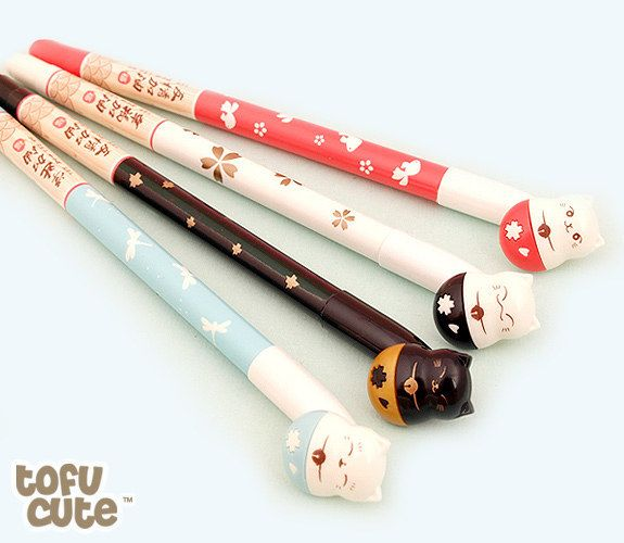 These pens: | 18 Adorable Stationery Items You Need If You're Obsessed With Cats