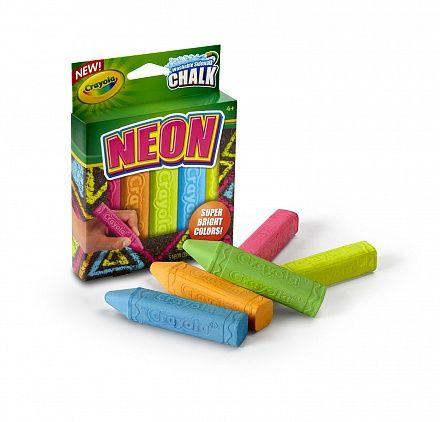 Мел для асфальта неоновый, 5 цветов (Crayola, 03-5803) купить в магазине детских игрушек ToyWay