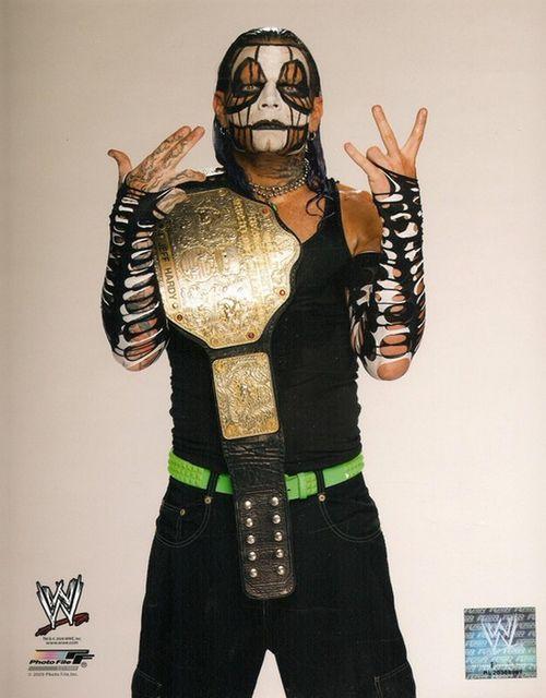 Jeff Hardy Was A WWE Dare Devil