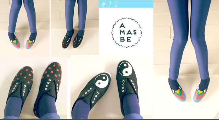 Catalogo AMASBE INVIERNO 2015 +zapatillas pintadas a mano+