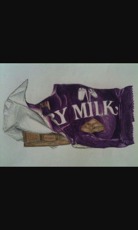 Drawing of Dairy Milk bar