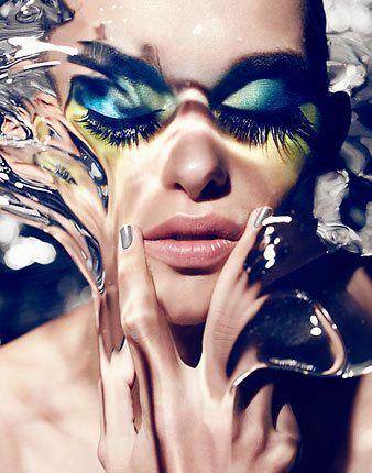 1st Magazine 'Aqua' by Dirk Bader, via Behance