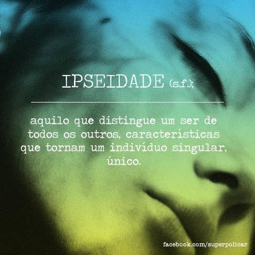 glossario #ipseidade