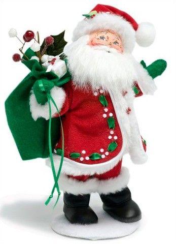 "Holly Berry Santa 9"" | Annalee | 400709"