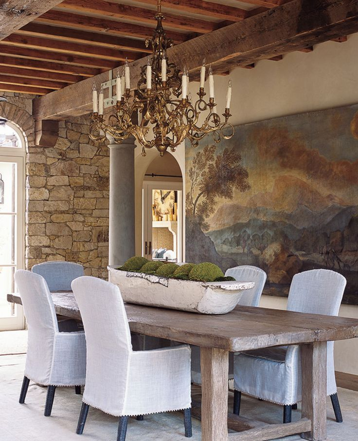 Table and wall art