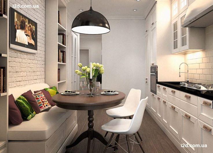 Интерьер маленькой квартиры 40 м2 в скандинавском стиле | RoomIdea