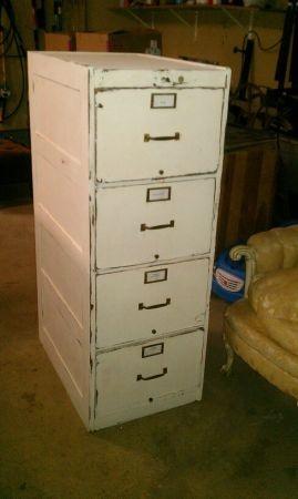 Wood Legal Filing Cabinet.