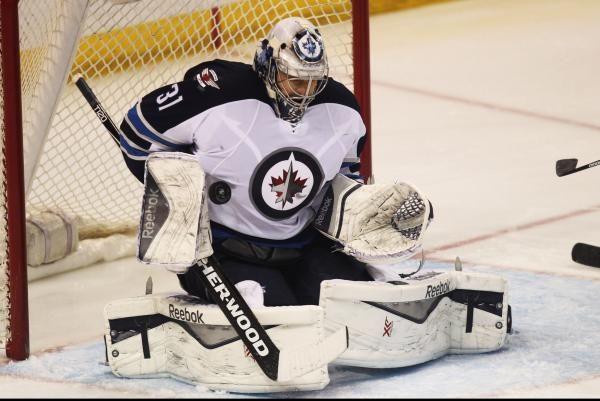 The Sports Xchange The Winnipeg Jets recalled goaltender Ondrej Pavelec from the Manitoba Moose.