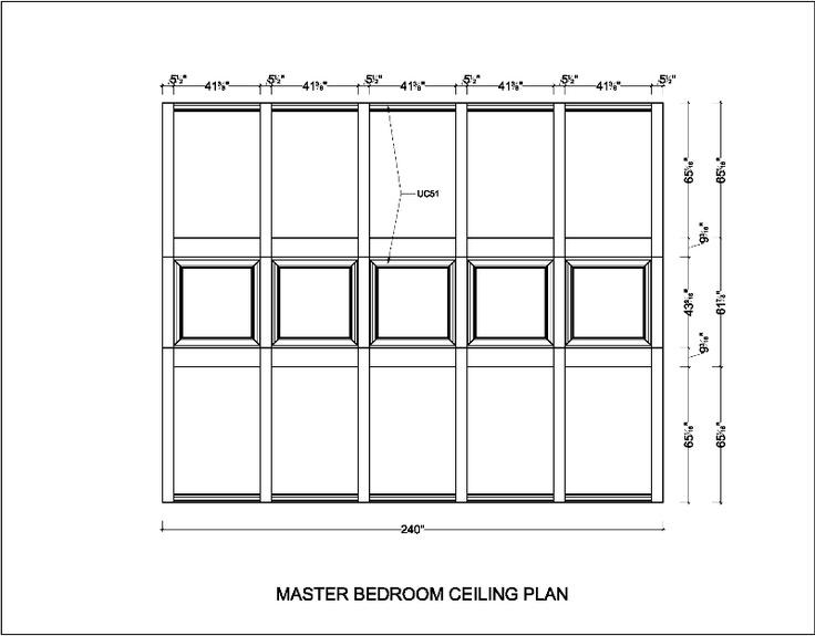 Stunning Master Bedroom Ceiling Plan