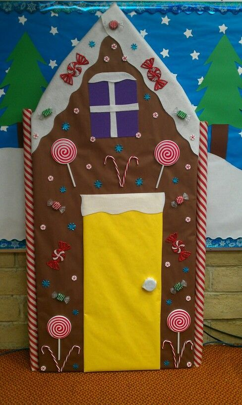 Candy Themed Classroom | Candy Land Christmas theme. | Classroom Bulletin Boards and Decorating