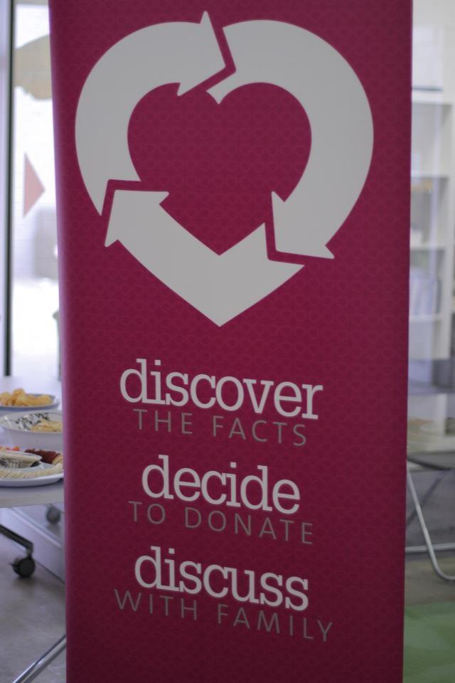 Discover. Decide. Discuss. #havethechat #donatelife #beanorgandonor