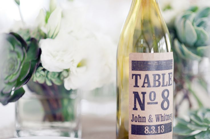 Another table number idea