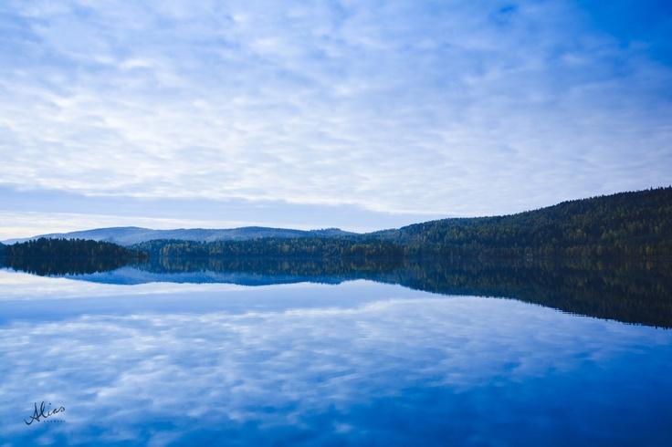 Reflection, a landscape photo from Koli, Finland.