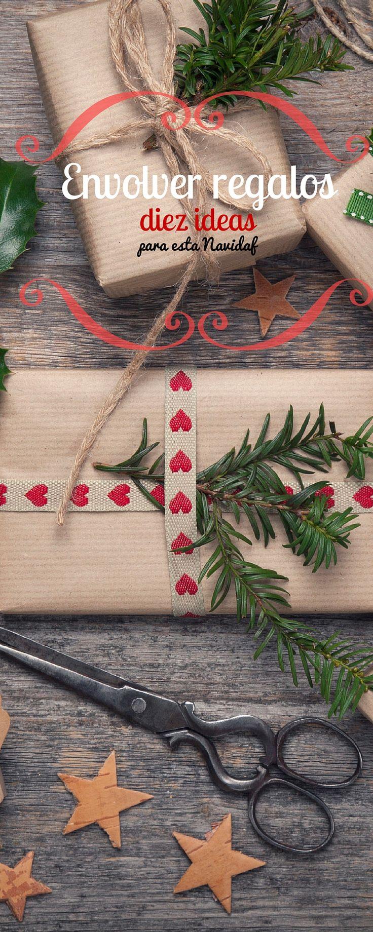 Diez ideas para inspirarte y envolver regalos de forma original esta Navidad