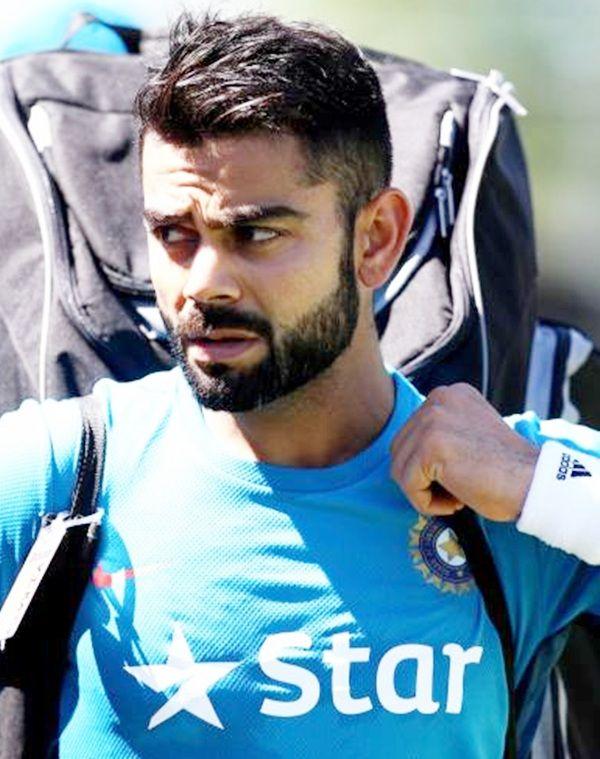 Indian player Virat Kohli during the practise session