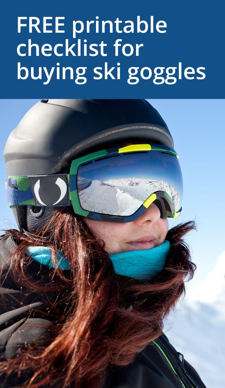 12 Tips for Buying Ski Goggles