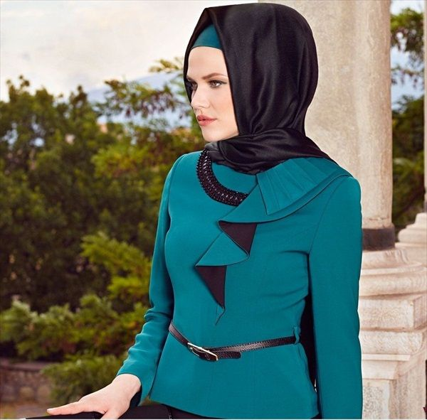 The muslim females who wear hijab would also want to look dressy and