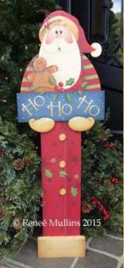 #632  Santa Porch Greeter (PATTERN)