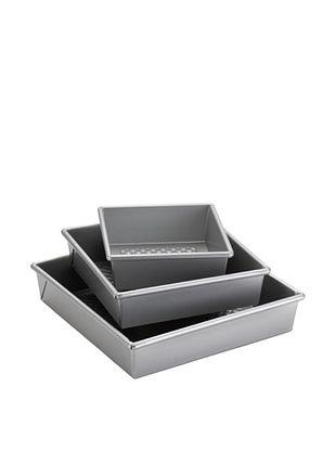 20% OFF Cake Boss 3-Piece Square Cake Pan Set