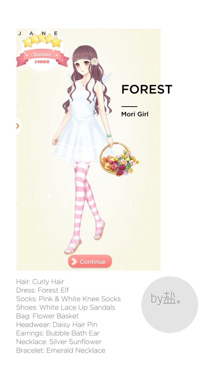 Romantic diary guide archive walkthrough forest quest mori girl romantic diary game pinterest mori girl