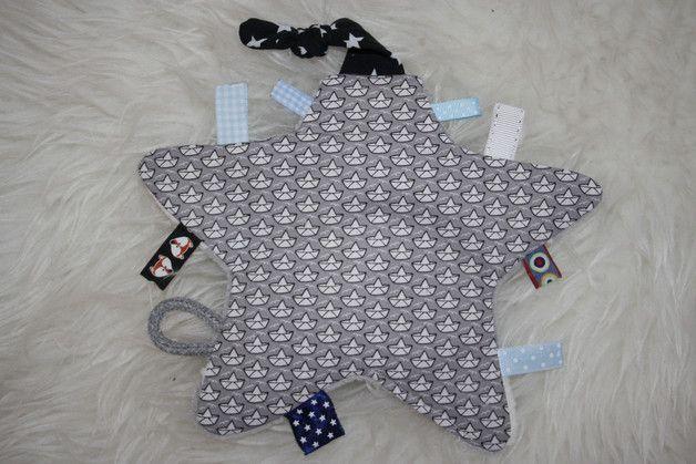 Knistertücher - Knistertuch Schiffchen - ein Designerstück von Bellalou-KleinesLeben bei DaWanda