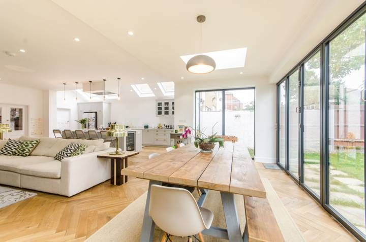 5 Bedroom House For Sale In Anson Road Willesden Green Nw2 Through Open Plan Kitchen Living Room Open Plan Kitchen Dining Living Interior Design Living Room