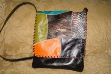BAG CARRIEL STYLE. MATERIAL HANDCRAFTED IN 100% LEATHER.