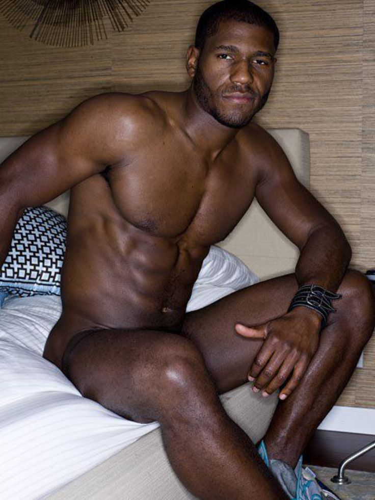 Sexy thick black man naked #5