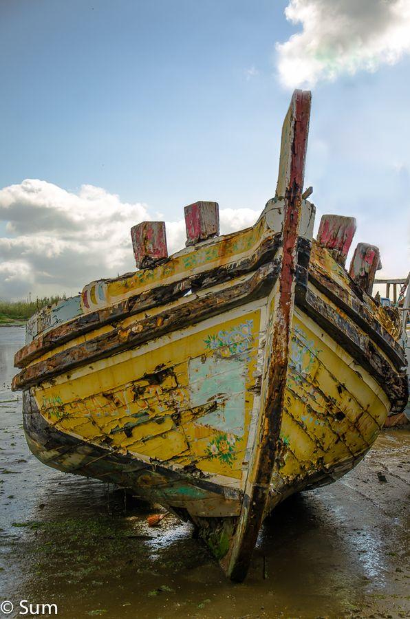 dead boat  by Assunção Branco on 500px