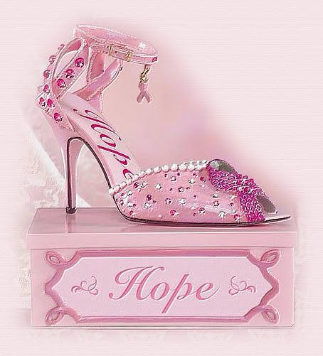 Breast cancer awareness shoes!? These are great! - http://www.facebook.com/Introcomm
