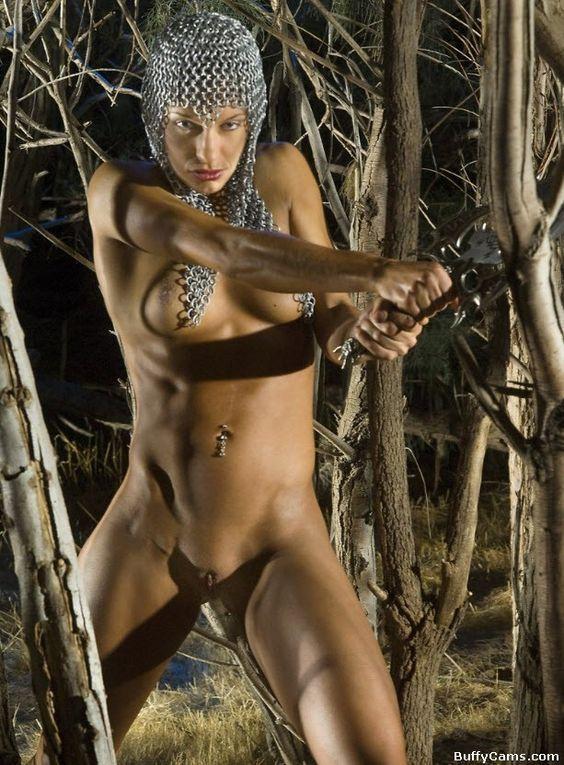 naked amazon muscle woman