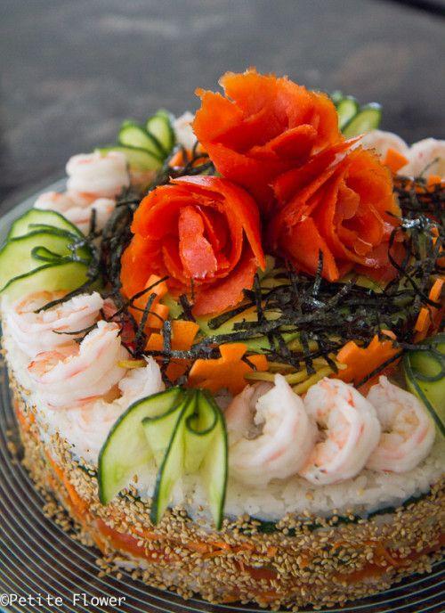 Duel Character :: Denim Two-Ways & Sushi Cake