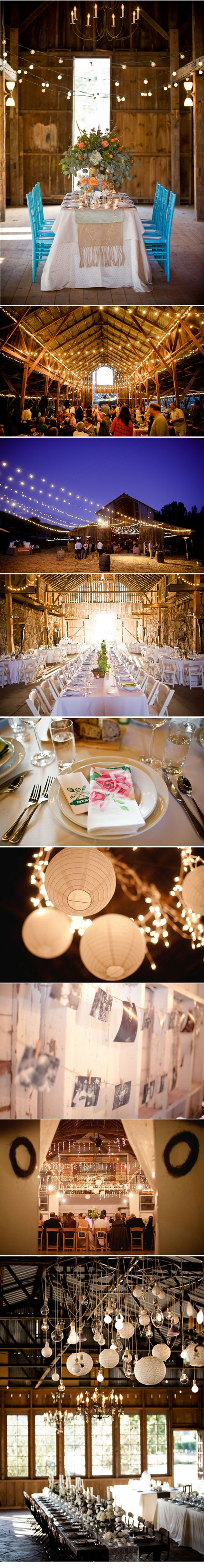 i keep coming back to this outdoorsy, barn wedding. why?! for whatever reason, i love all of these ideas!