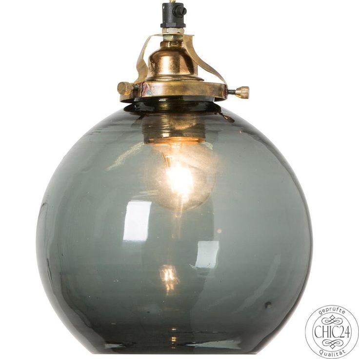Pendelleuchte Hope S + Kabel, blau - chic24 - Vintage Möbel und Industriedesign Lampen Online kaufen, € 124,90