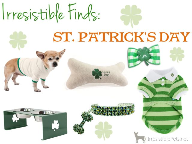 Irresistible Pet Finds - St Patricks Day