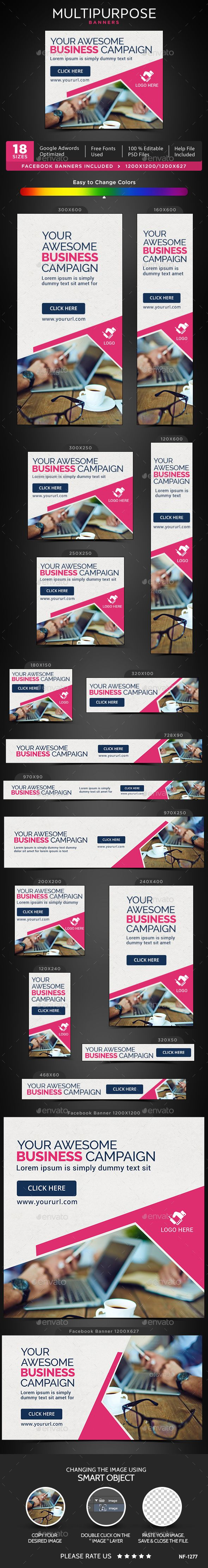 Multipurpose Banners Template PSD. Download here: http://graphicriver.net/item/multipurpose-banners/16048138?ref=ksioks