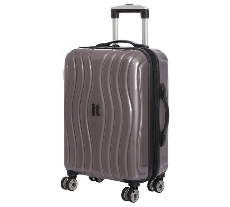 Buy IT Luggage Small Hard 8 Wheel Suitcase - Metallic at Argos.co.uk, visit Argos.co.uk to shop online for Cabin luggage, Briefcases and business luggage, Bags, luggage and travel, Sports and leisure