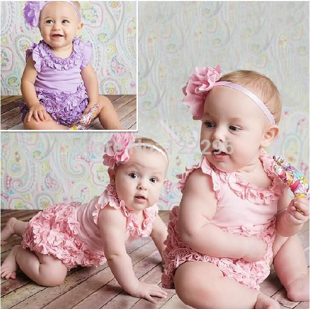 Новый дизайн жаркие летние модели женского пола ребенка торт Треугольник Ползунки комбинезон восхождение одежды + цветок головной убор