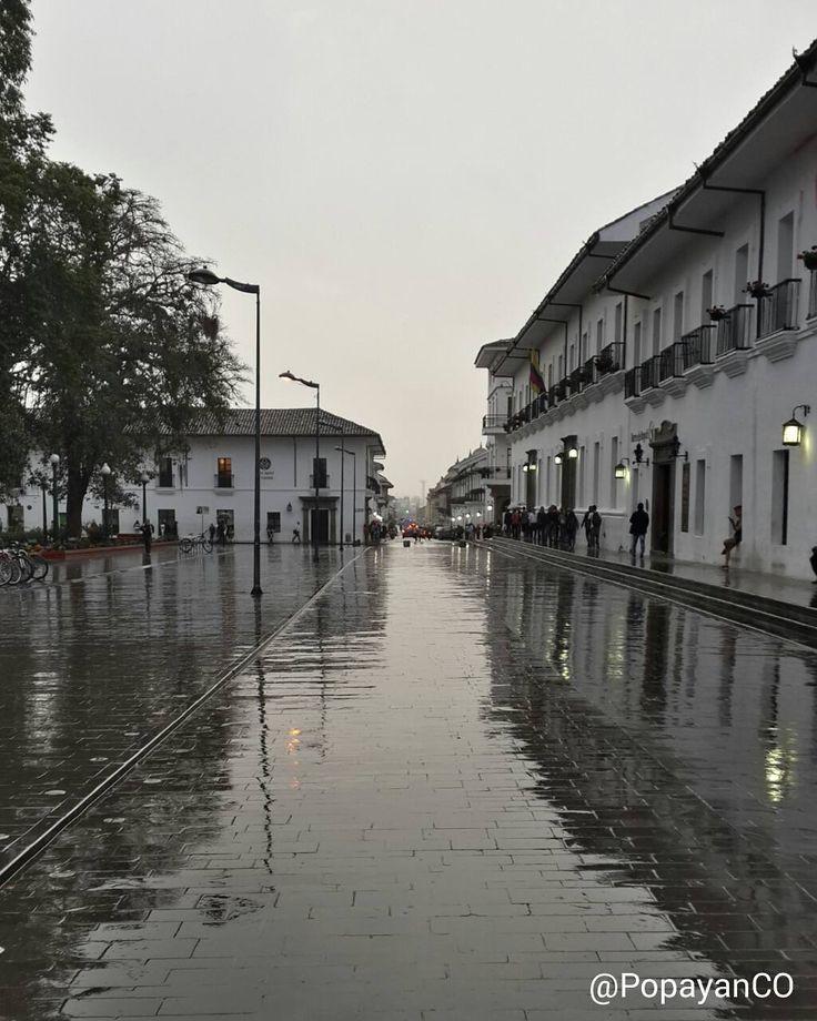 #Clima #PopayánCO min: 15ºC max: 21ºC Mañana: Lloviznas en Diferentes Sectores  Tarde: Cielo Parcialmente Nublado  Noche: Lloviznas en Diferentes Sectores