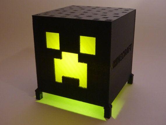 Paladone Minecraft Creeper Light BDPSuper Bright Night Lamp for Gamers /&