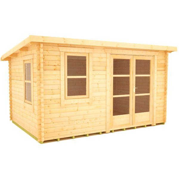 Rho Log Cabin | 44mm Garden Log Cabins