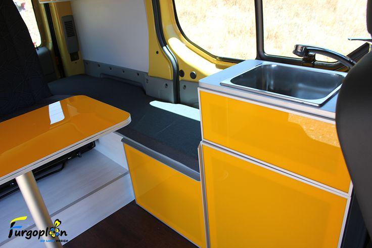 Muebles realizados a medida para la renault trafic www for Muebles camper