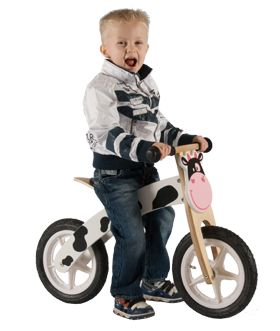 Houten loopfietsen vindt je op   www.toys2buy.nl