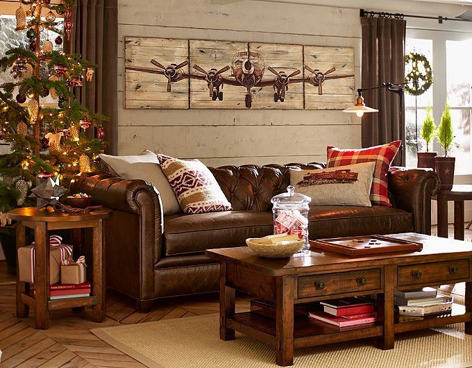 Living room ideas living room decorations pottery barn - Pictures of decorated living rooms ...