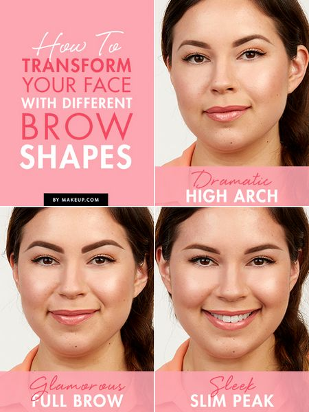 Transform your face with different brow shapes!