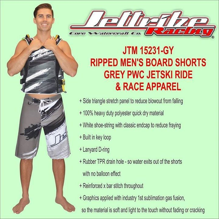 Please visit www.jettribe.com to see more information regarding this product. JTM 15231-GY RIPPED MEN'S BOARD SHORTS #jet ski goggles # helmet jet ski #jet ski apparel # jet ski clothes #jet ski clothing # jet ski cover kawasaki #jet ski cover sea doo #jet ski equipment #jet ski covers Yamaha #jet ski gear #jet ski helmets #jet ski life vest #jet ski pdf #jet ski shoes #jet ski wetsuits #jet ski covers #kawasaki jet ski covers #jet ski cover #kawasaki pwc cover #pwc apparel #pwc gear #sea…