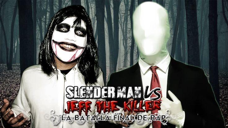 Slenderman VS Jeff the Killer. La Batalla Final de Rap (Especial Hallowe...