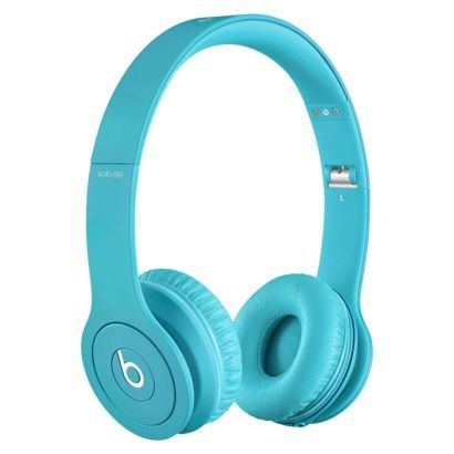 Beats Solo® HD Drenched in Light Blue. Everything about these are perfect and only $200