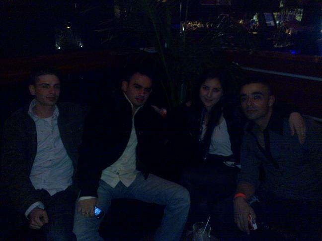 Clubbing in Sydney.