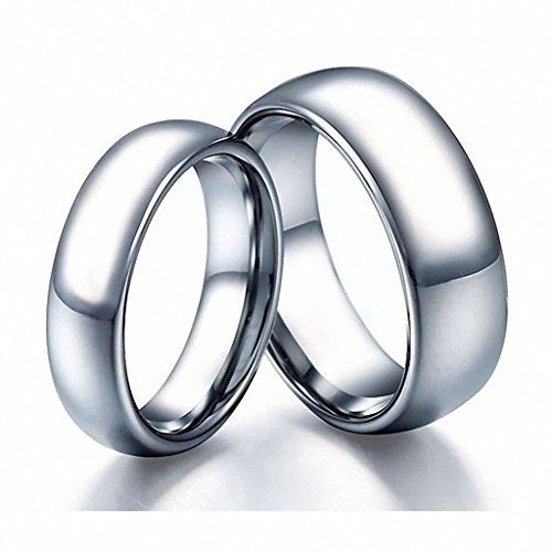 56 best Tungsten Couple Rings images on Pinterest
